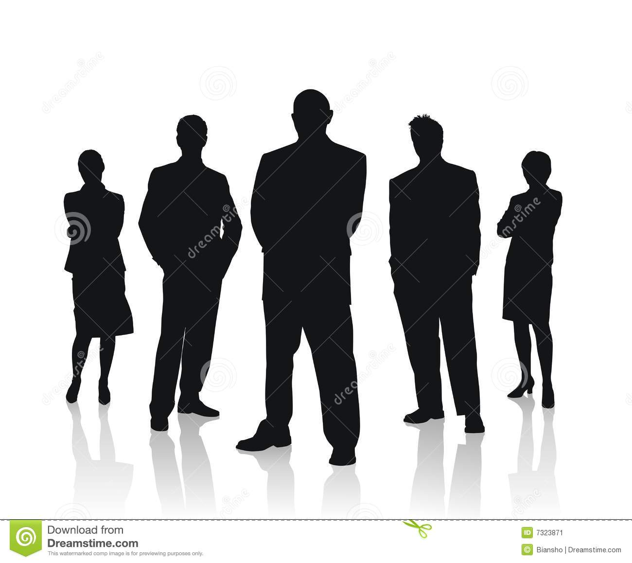 Business People Team Vector Illustration Stock Image ...