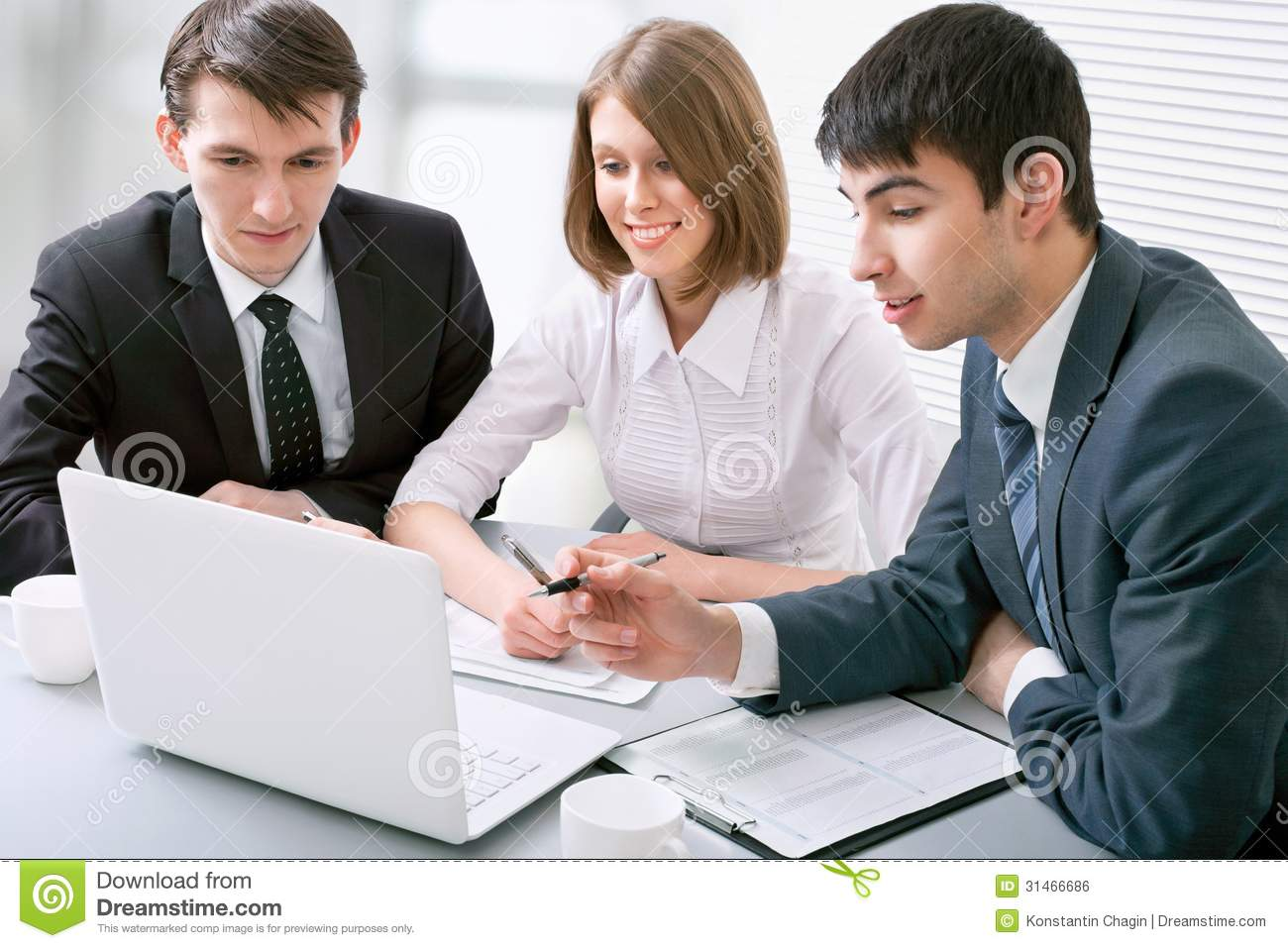 Business People Royalty Free Stock Image - Image: 31466686