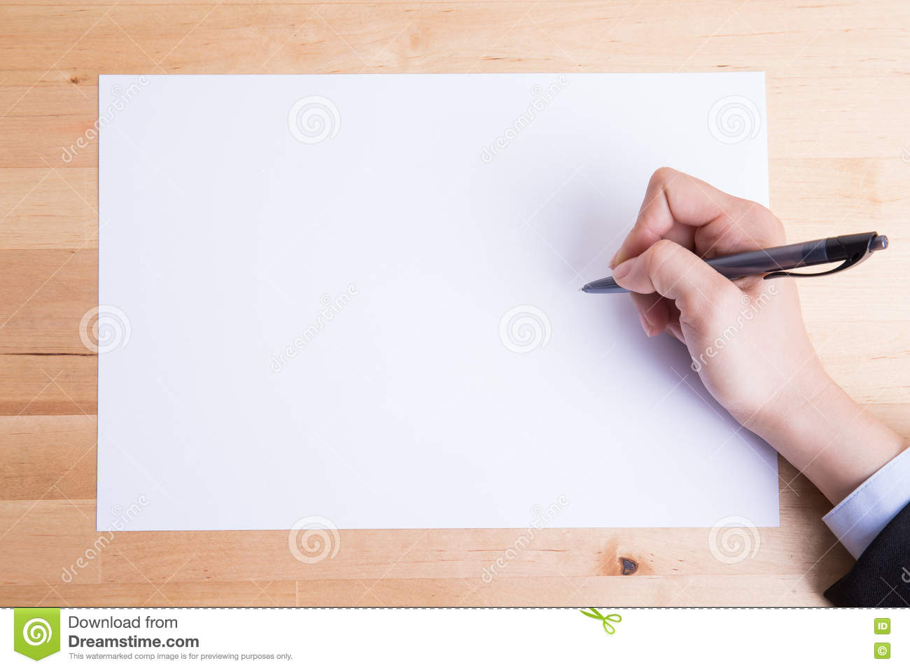 Business People Writing On Paper Photo Image 71308894 – Design Paper for Writing