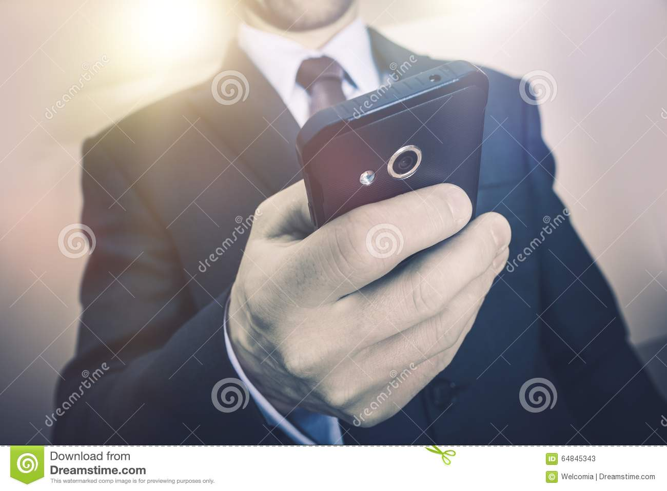 Download Business Phone Call stock image. Image of businessman - 64845343