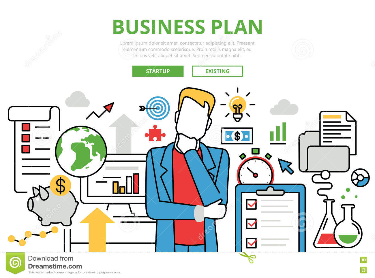 Preparing a business plan in France