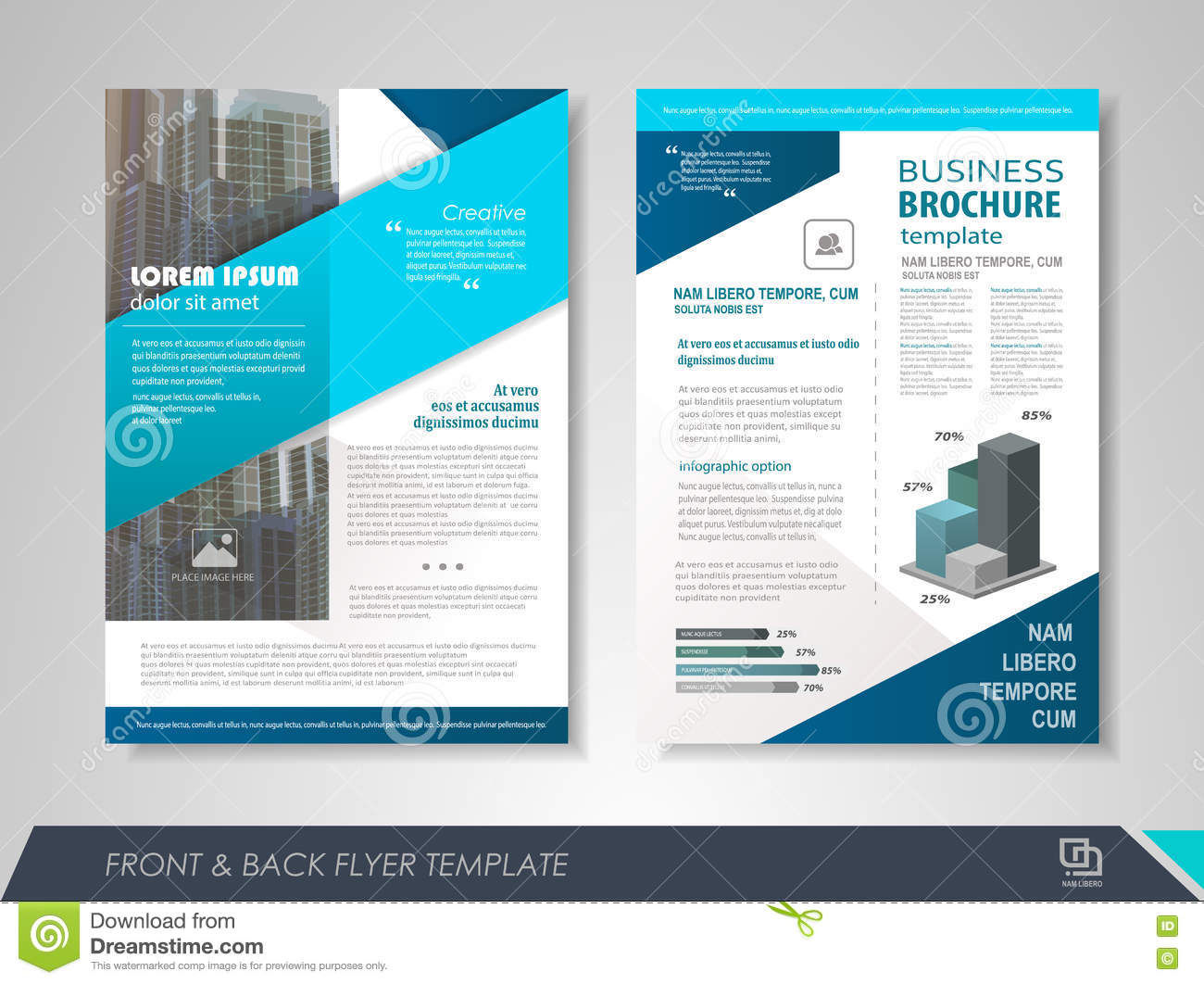 Business poster template stock vector illustration of booklet download comp wajeb Choice Image
