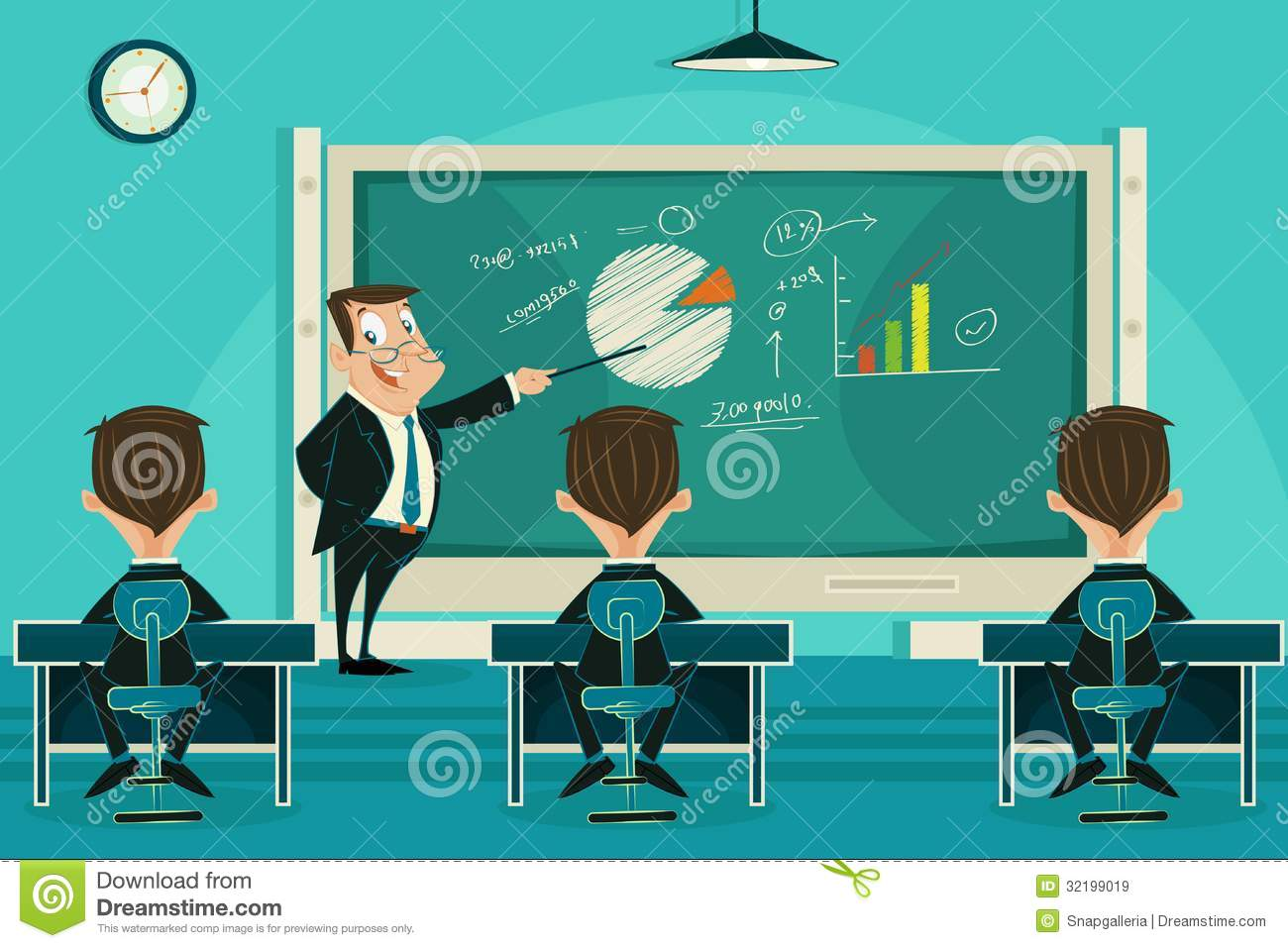 ... Presentation Class Royalty Free Stock Images - Image: 32199019: www.dreamstime.com/royalty-free-stock-images-business-presentation...