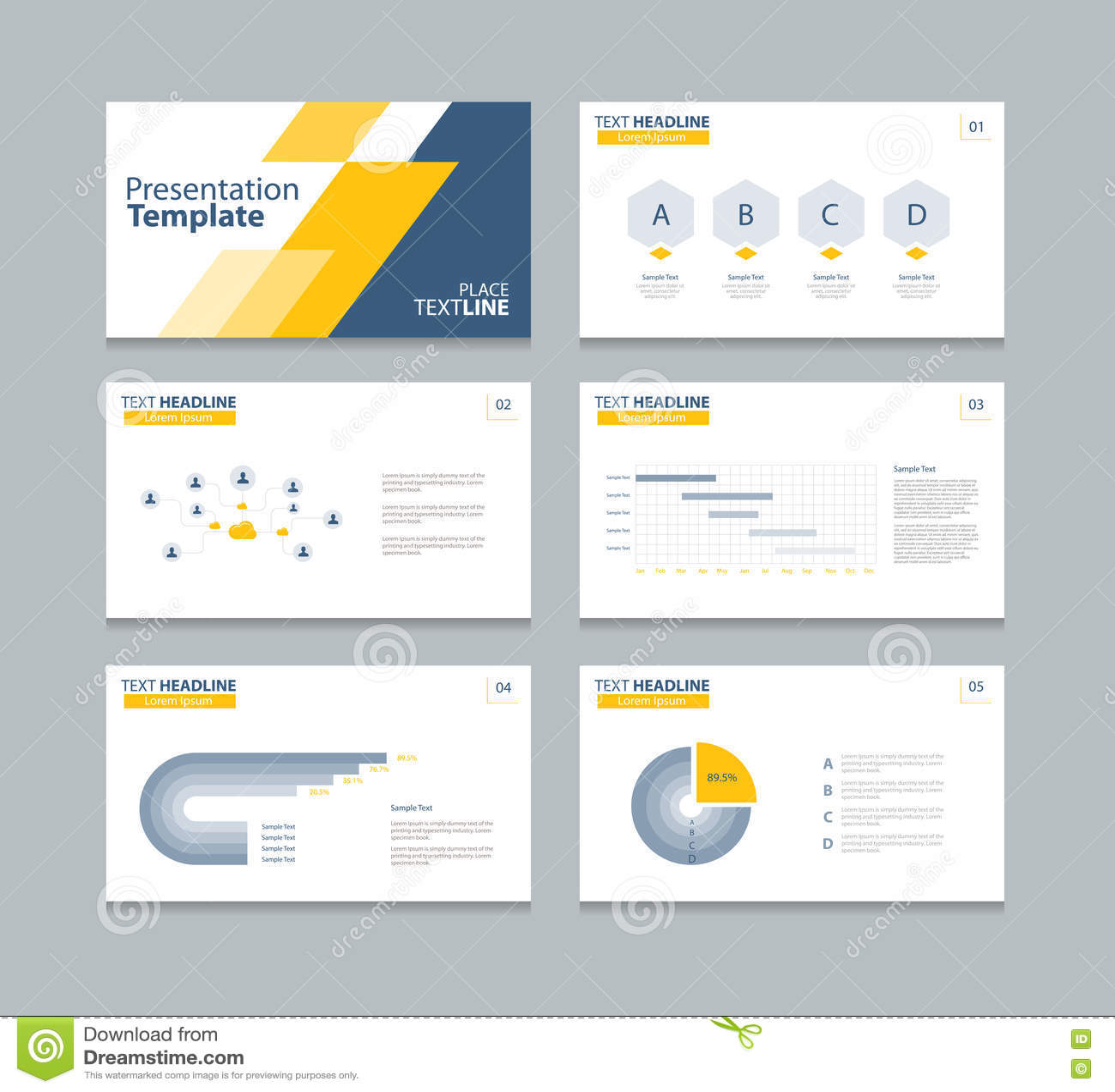 business presentation design