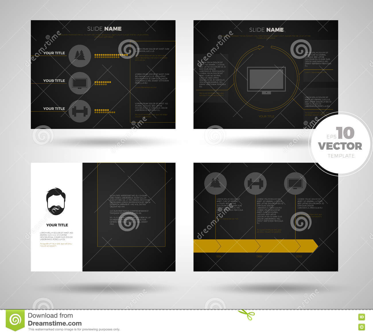 Black infographic powerpoint template design backgrounds business business presentation template setpowerpoint template design backgrounds royalty free stock image toneelgroepblik Images