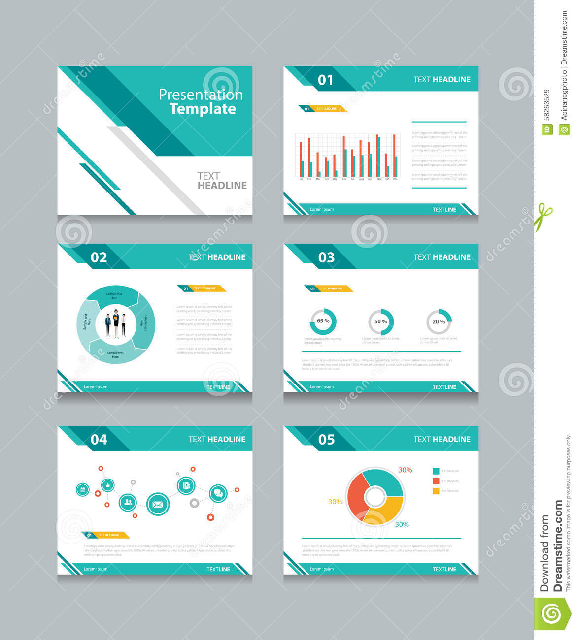 Business presentation template setpowerpoint template design business presentation template setpowerpoint template design backgrounds royalty free vector alramifo Choice Image