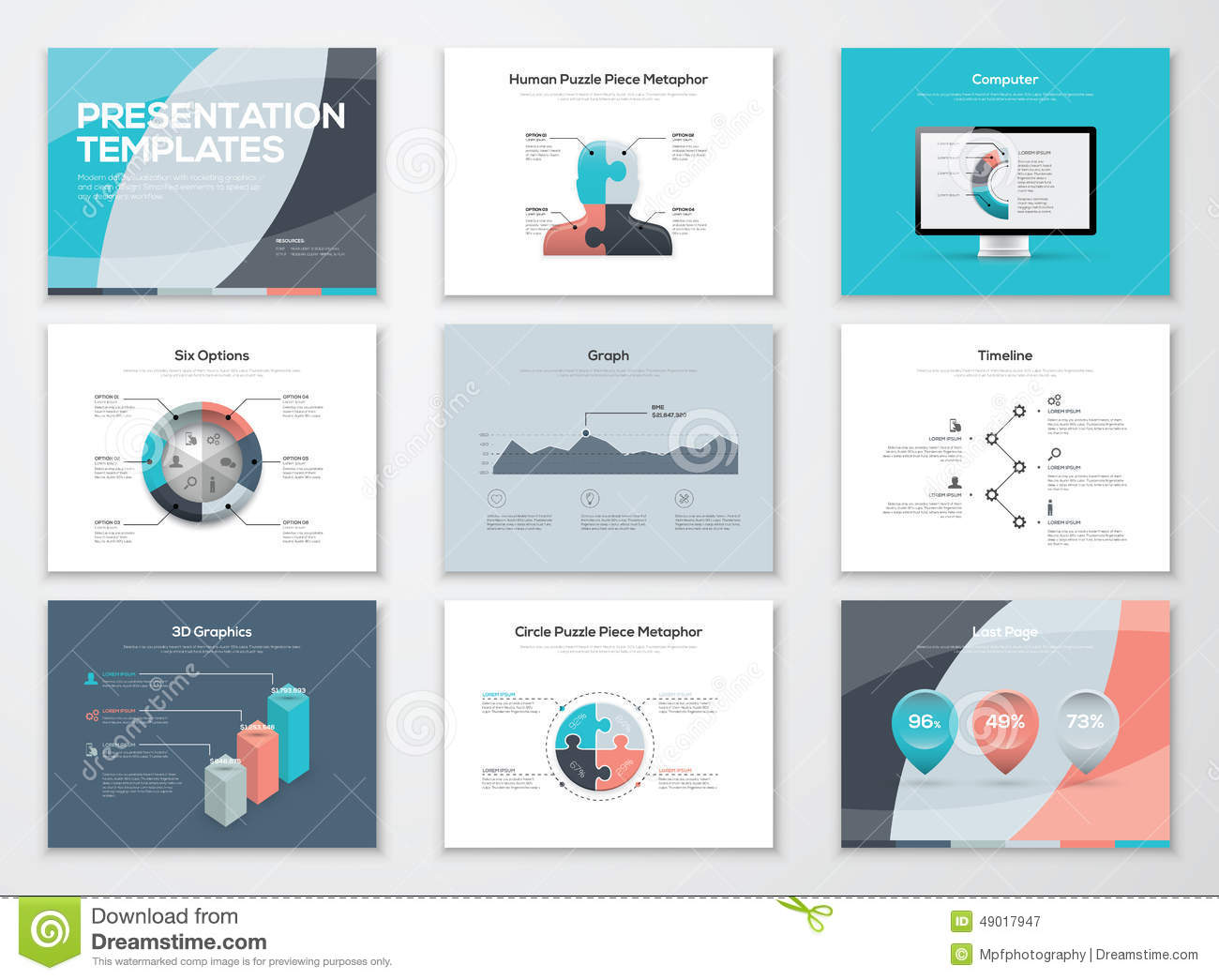 Business presentation templates and infographic vector elements business presentation templates and infographic vector elements accmission Choice Image