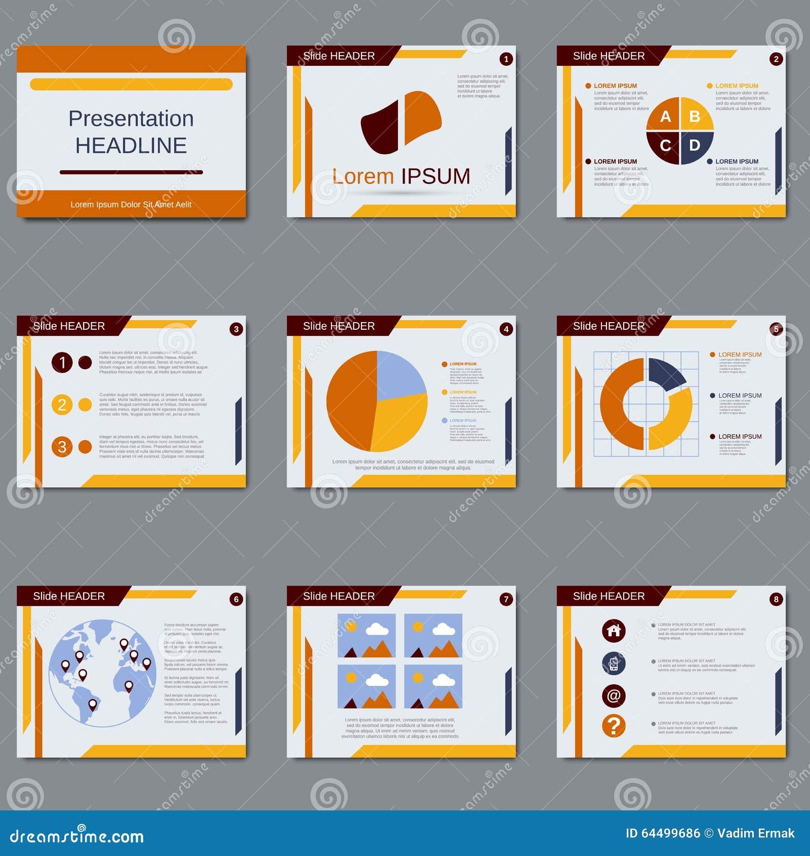 business presentation vector design template stock vector illustration of design info 64499686. Black Bedroom Furniture Sets. Home Design Ideas