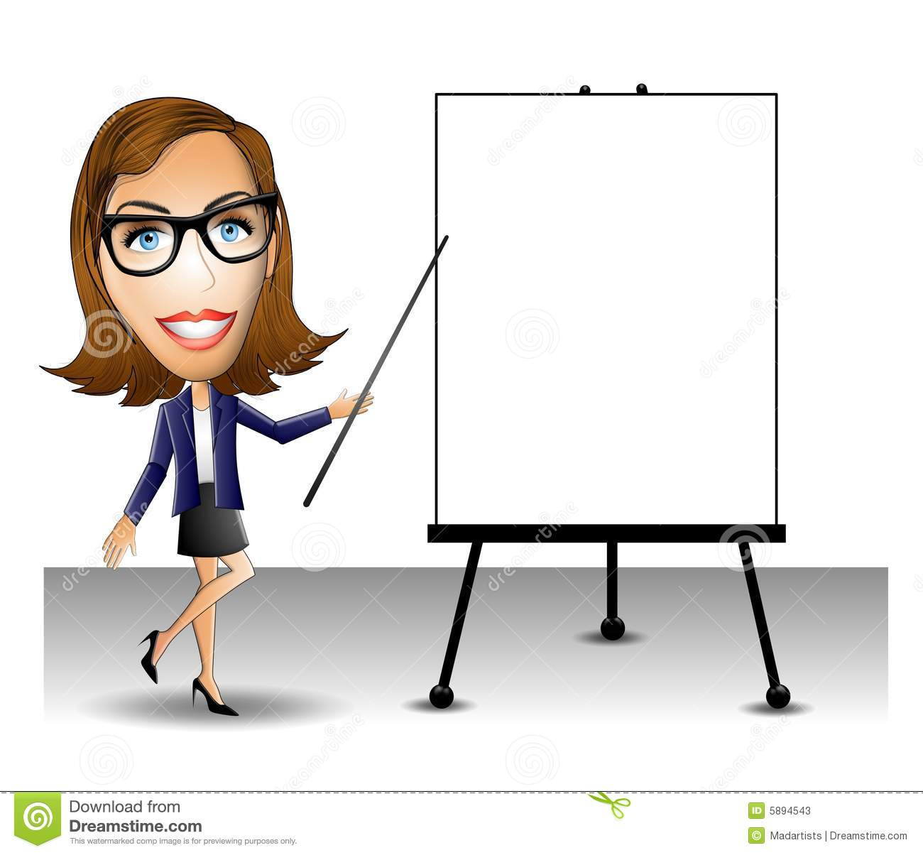 business presentation woman stock illustration illustration of rh dreamstime com