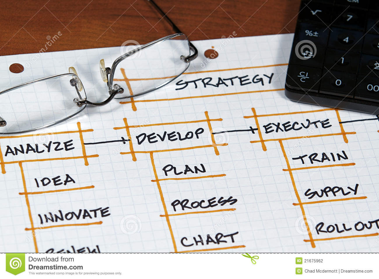 business project stock photo image of analyze strategy 21675962