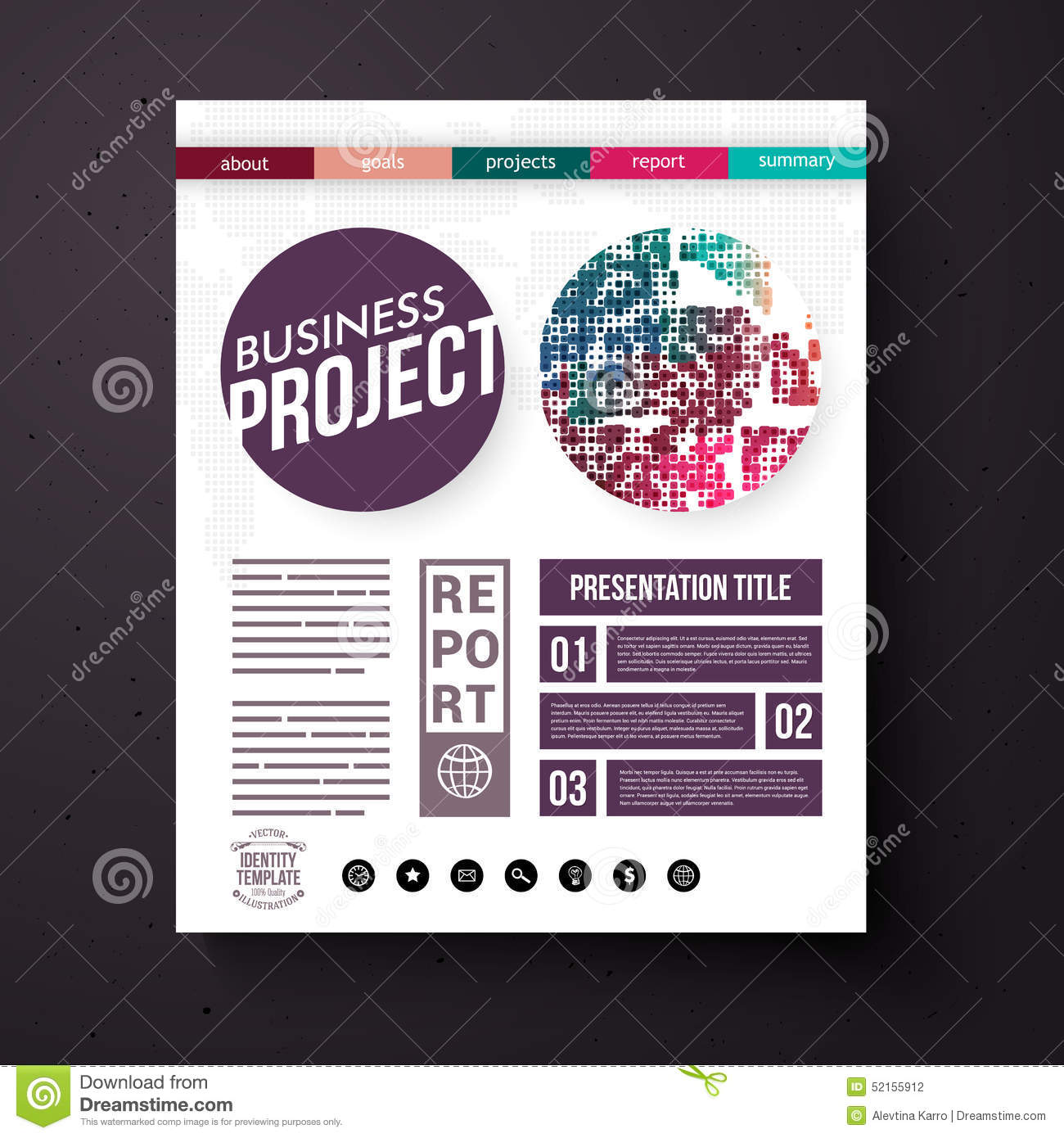 business project presentation