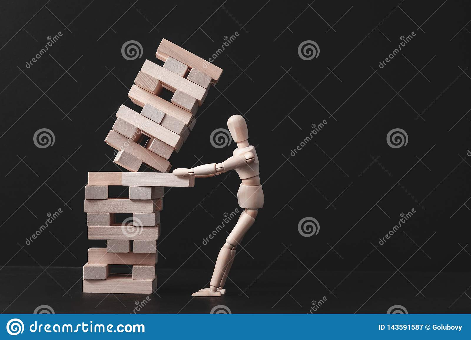 Business Project Strategy Mistake Risk Failure Stock Image - Image