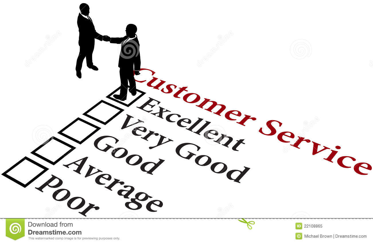 Business Relationship Excellent Customer Service Stock
