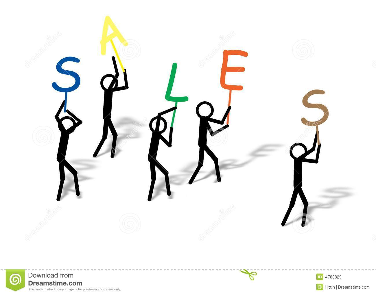 business sales stock illustration image of raise words