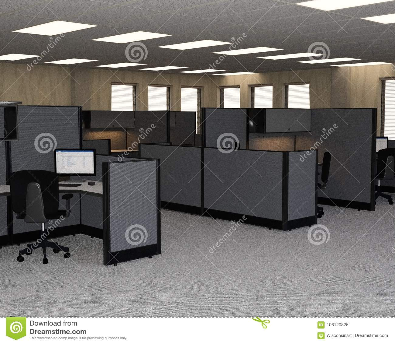 download office desk cubicles design. Plain Office Download Business Sales Office Cubicles Cubes Stock Photo  Image Of  Wisconsinart Cubicle Throughout Office Desk Cubicles Design E