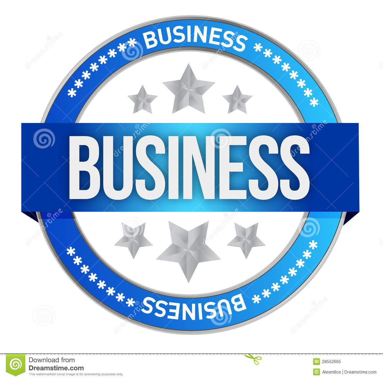 Intellectual Property Clip Art: Business Seal Royalty Free Stock Photo