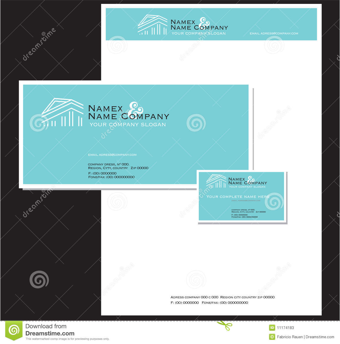 Corporate Stationery: Business Stationery And Card Stock Photos