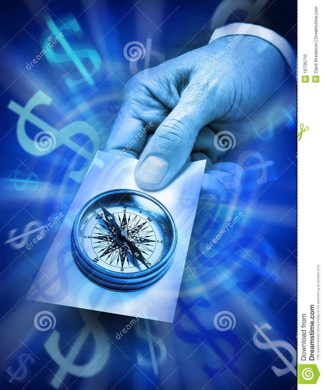 Business Strategy Compass Money