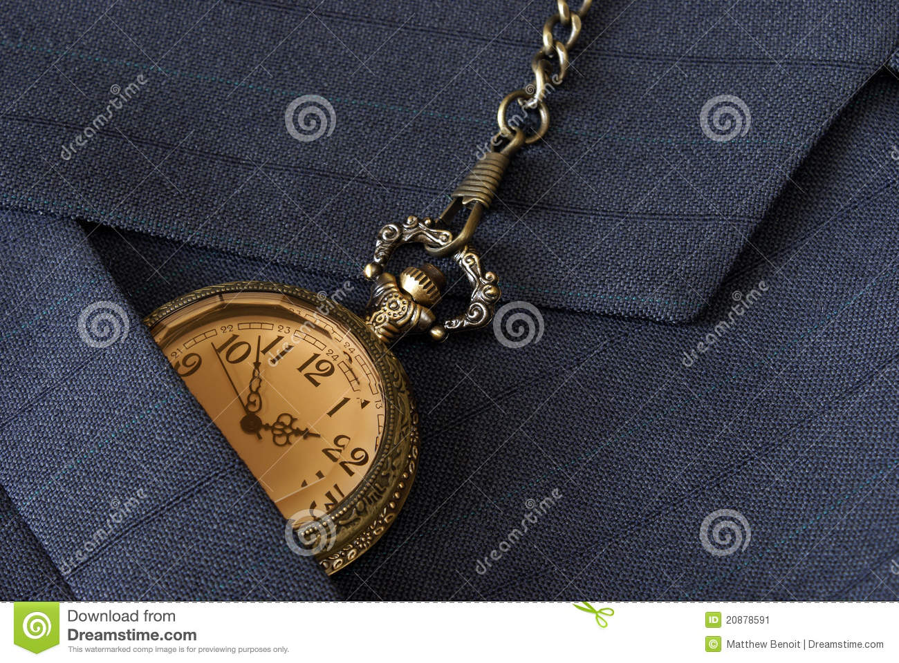 how to change the time on a pocket watch