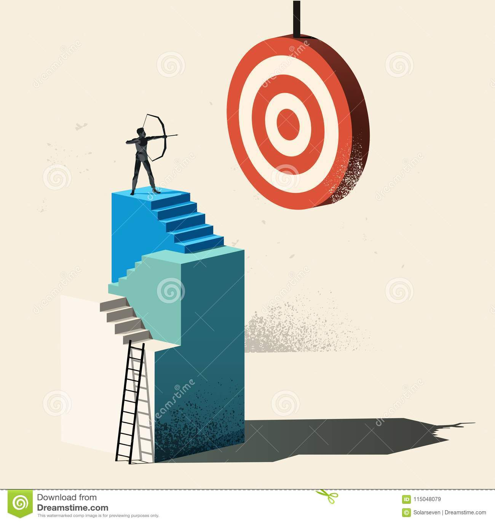 Business Target - Aim High
