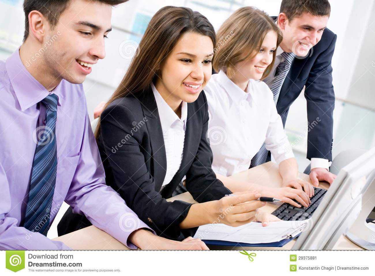 computer in business essay