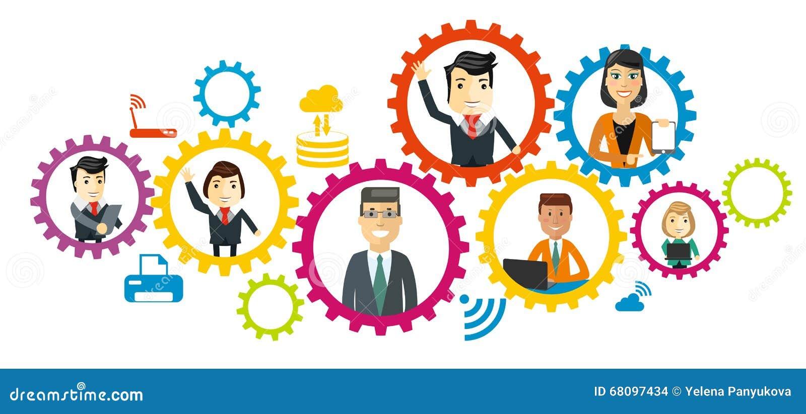 Business team cartoon characters cartoon vector cartoondealer com - Business Team Cartoon Characters Cartoon Vector Cartoondealer Com 67778951