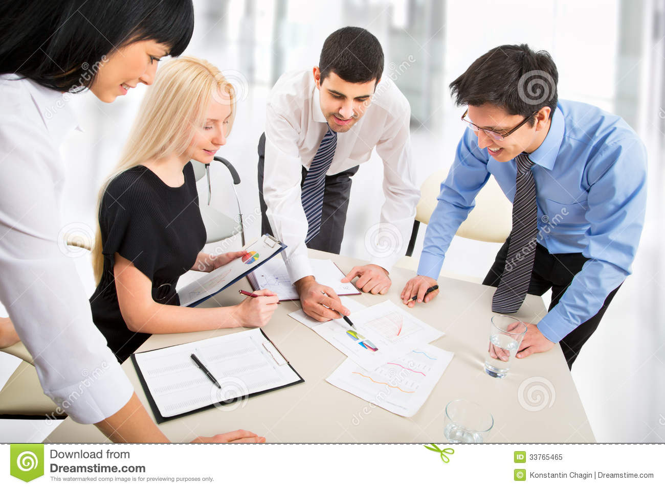 business at work royalty free stock photography business team stock image image of concentration 765
