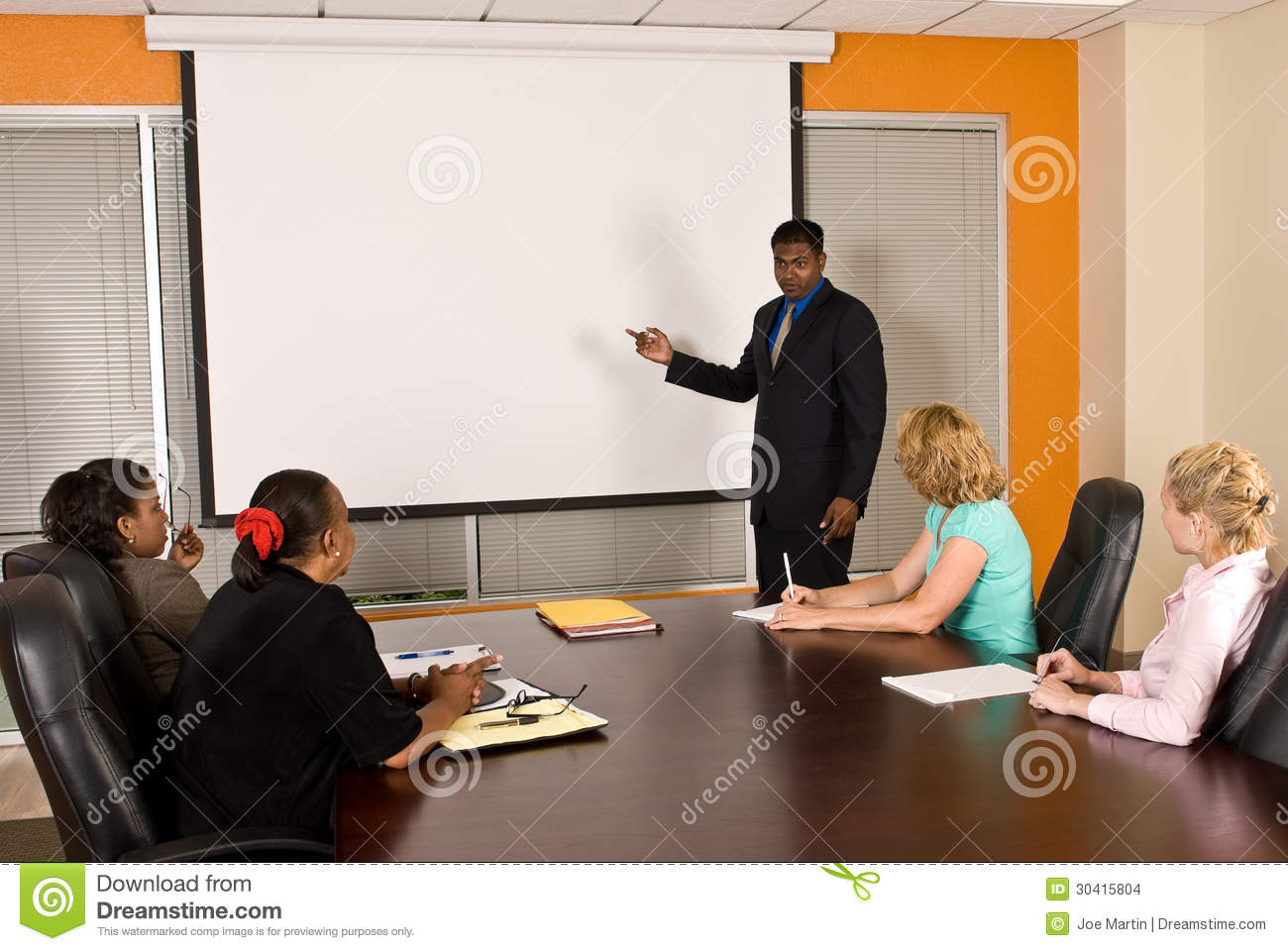 business team meeting stock images image 30415804