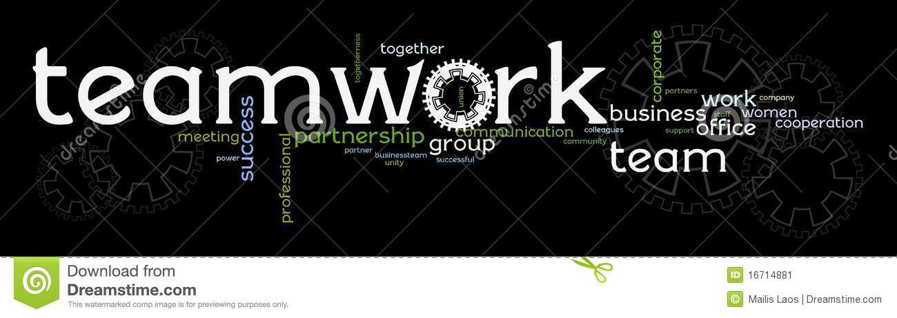 Business Teamwork Banner Stock Image - Image: 16714881