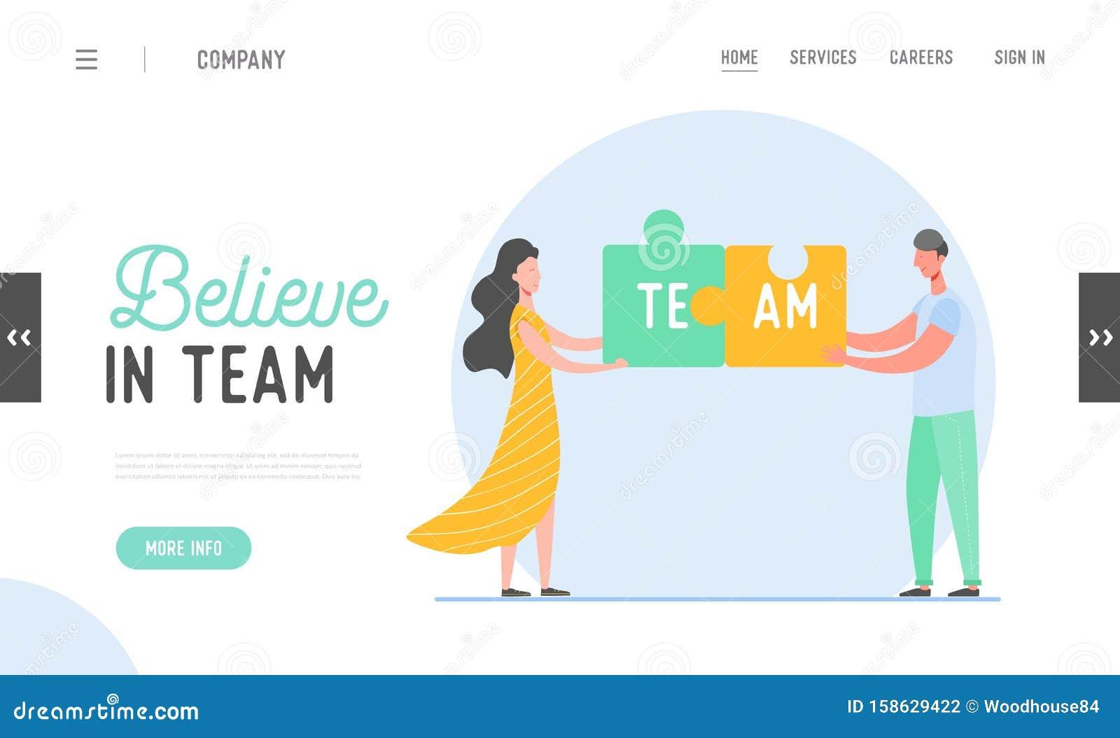 Team Collaboration Illustration | Graphic design services