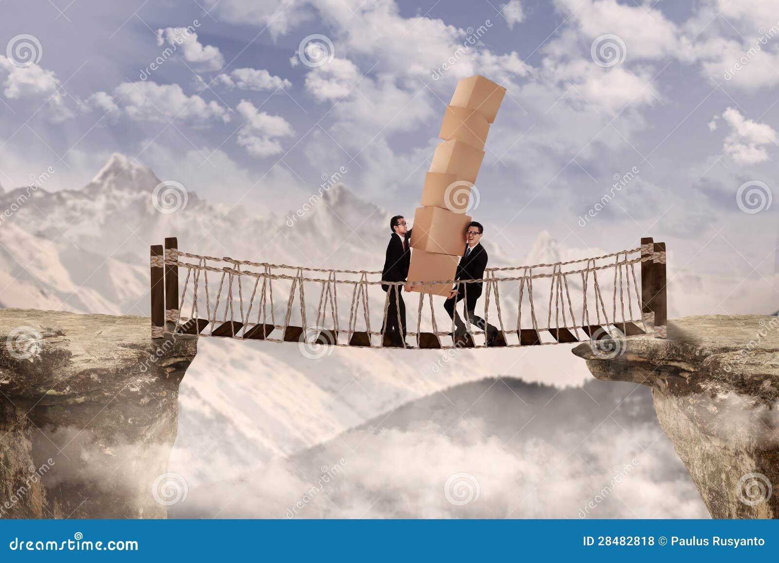 cross the bridge