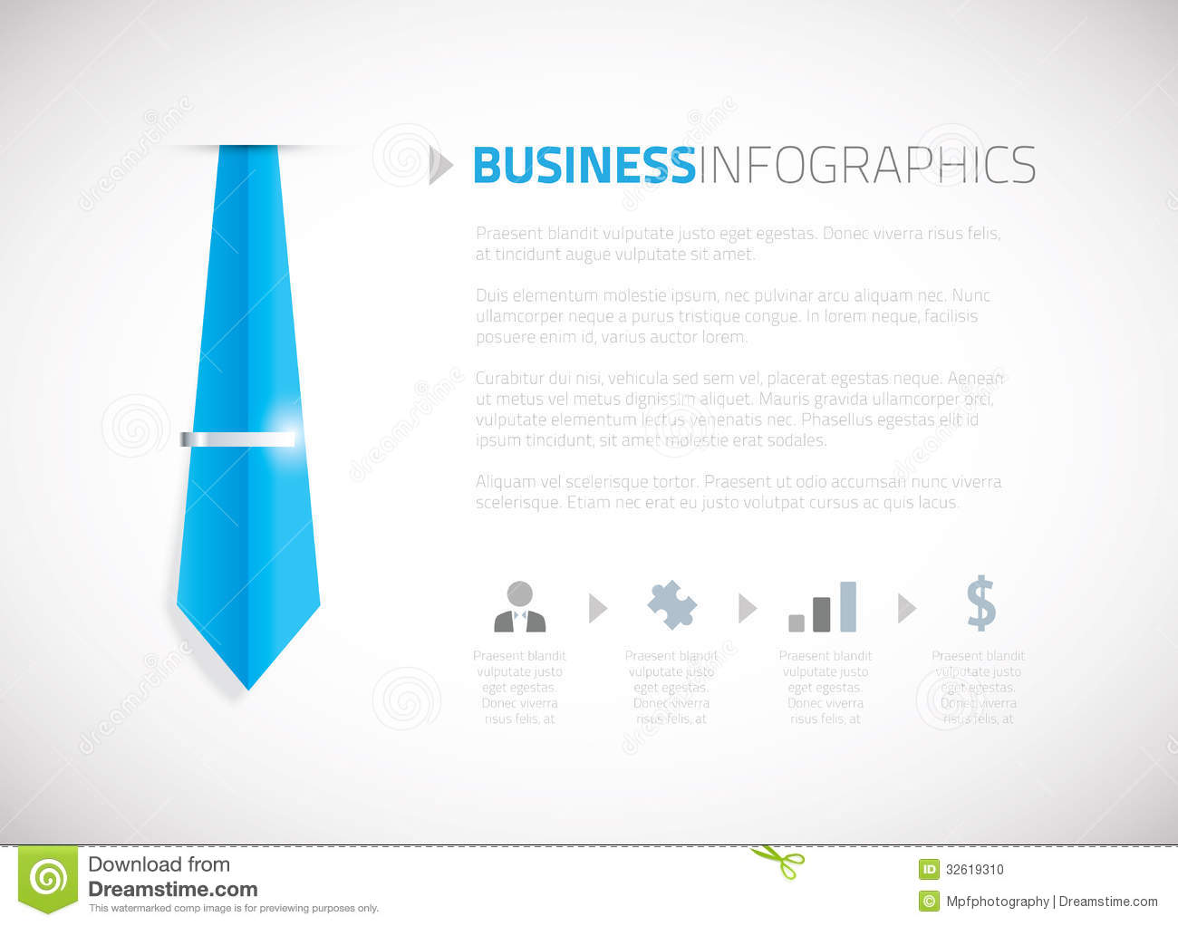 Business Template Brochure Background Vector Stock Photo - Image ...