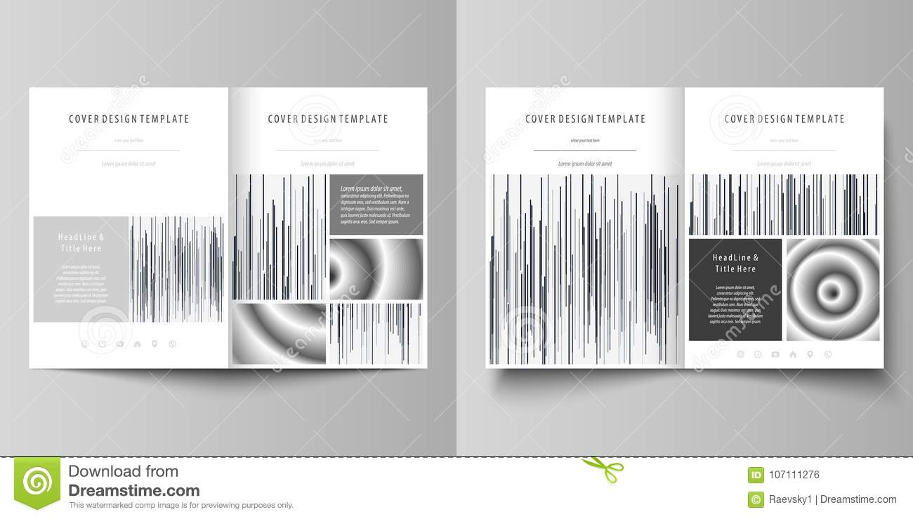 Business Templates For Bi Fold Brochure Magazine Flyer Cover Design Template Abstract