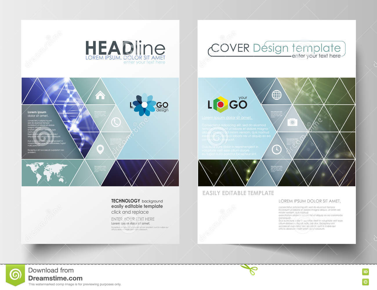 Book Cover Design Research : Business templates for brochure magazine flyer booklet