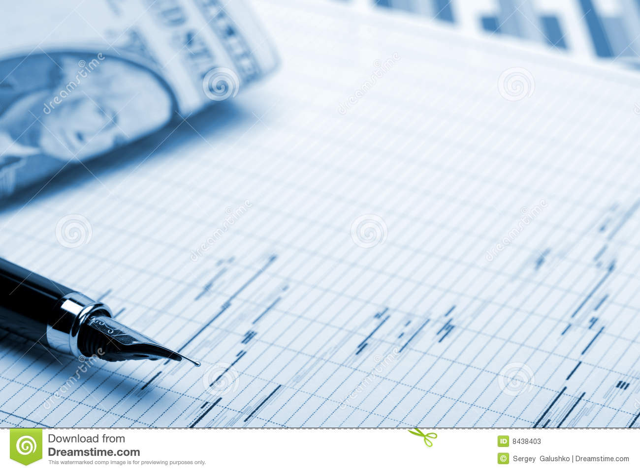 Business A Theme Background Stock Photos Image 8438403