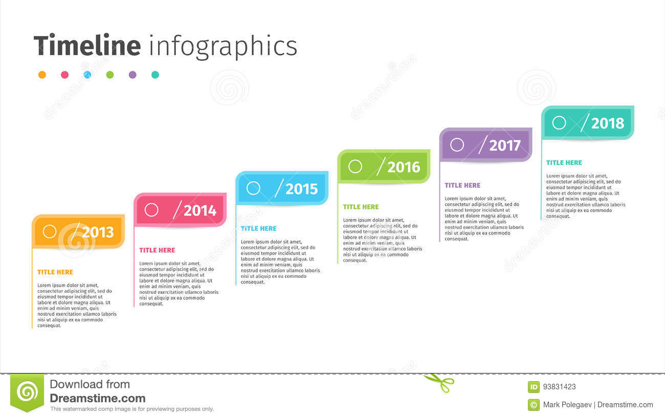 Business timeline with step flags infographics corporate milestones business timeline with step flags infographics corporate milestones graphic elements company presentation slide template friedricerecipe Choice Image