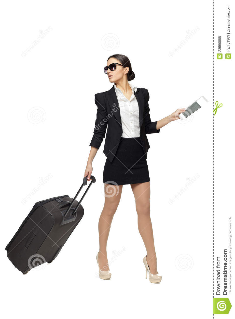 business travel woman royalty free stock photos image