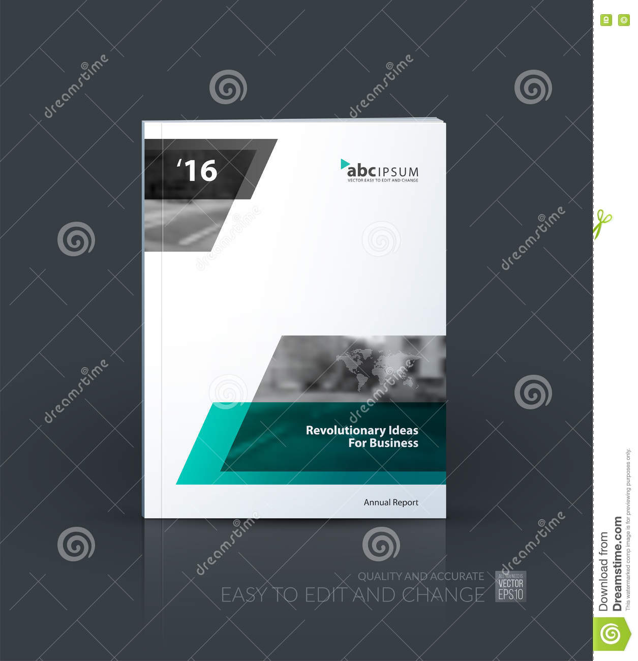 Business Vector Brochure Template Layout Cover Design
