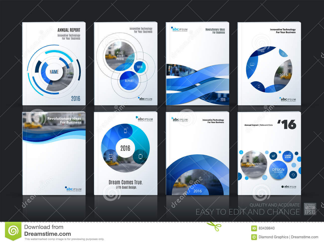 Download Business Vector. Brochure Template Layout, Cover Soft Design Ann Stock Vector - Illustration of connection, concept: 83439840