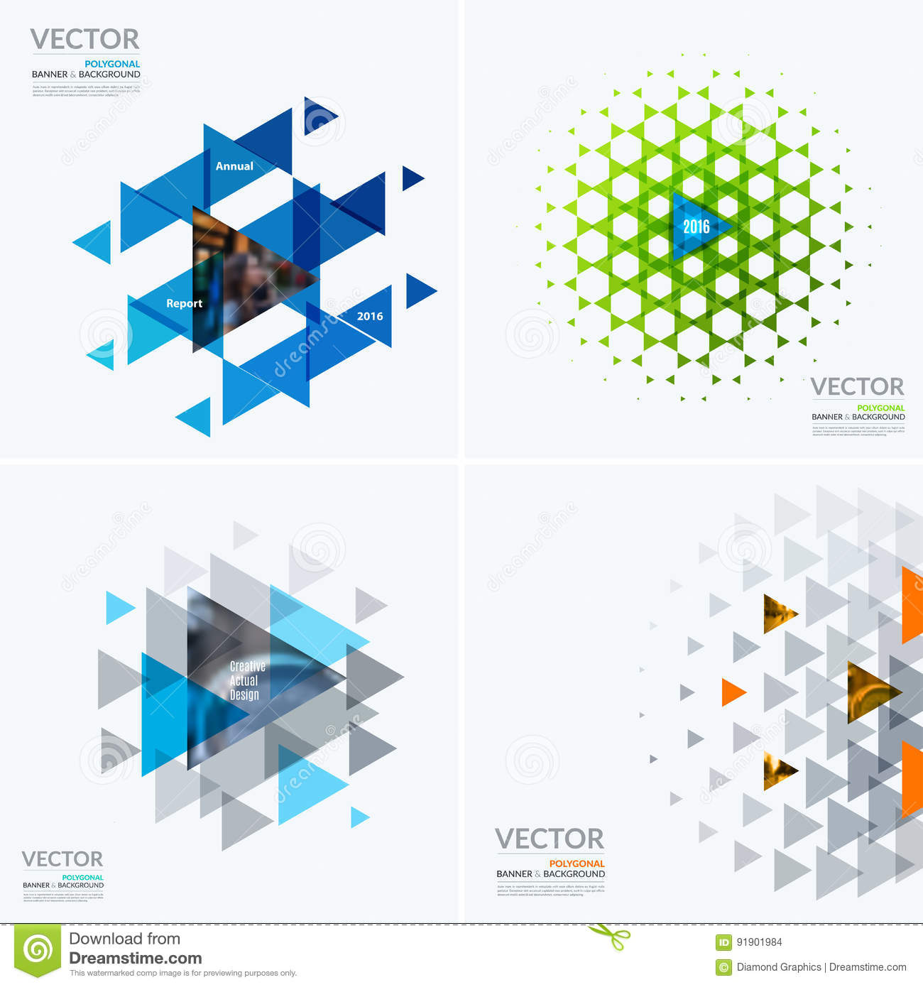 Business Vector Design Elements For Graphic Layout. Modern Abstr ...