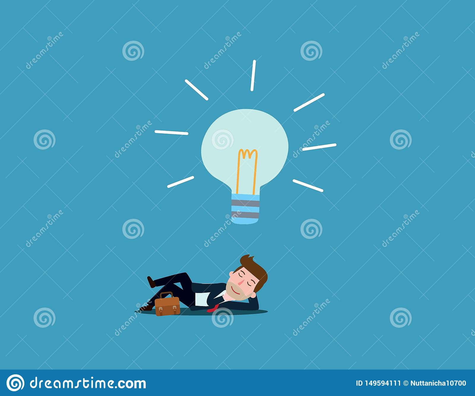 Business Vector flat cartoon design. banner background concept