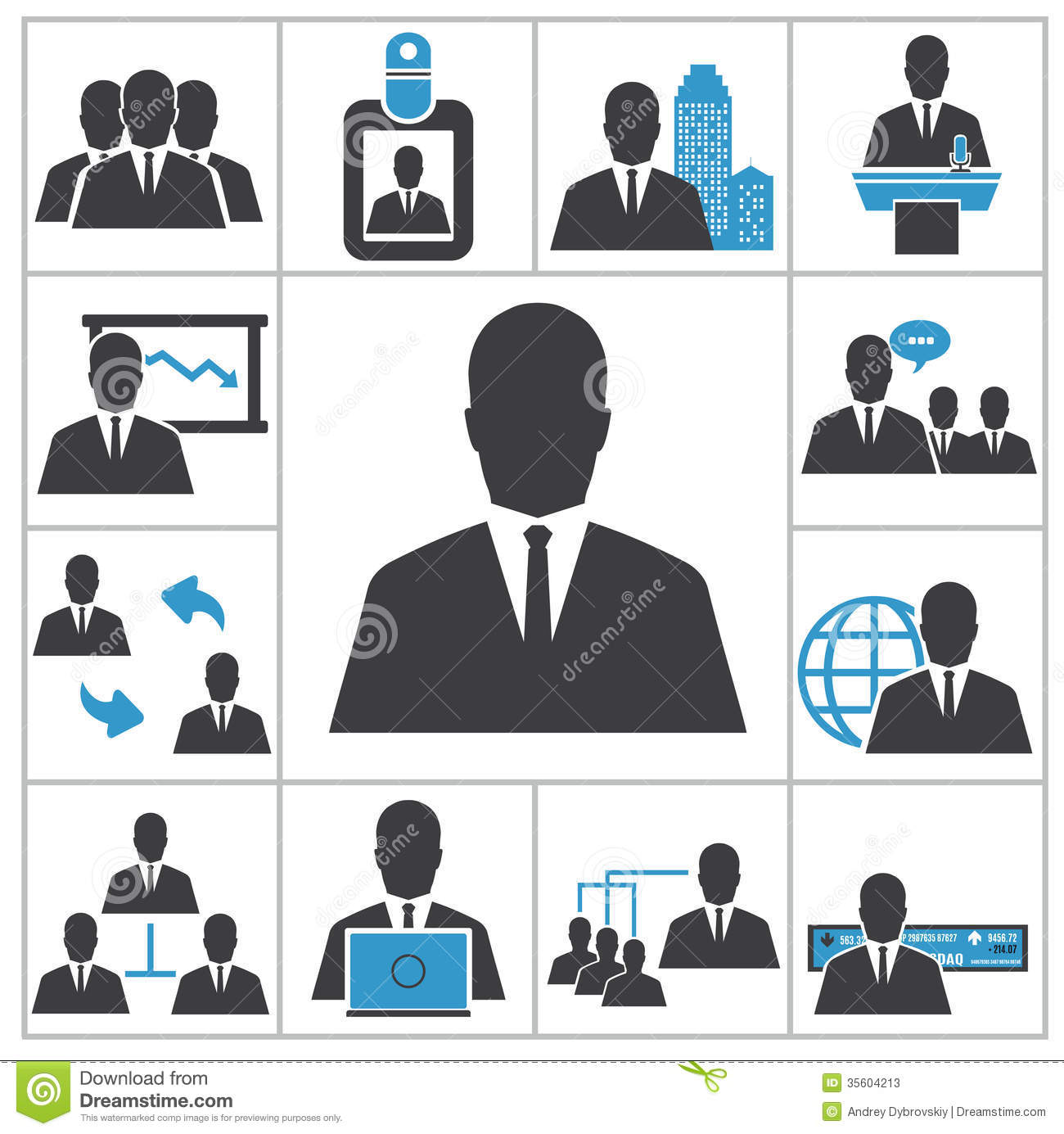 business stock vector illustration of business