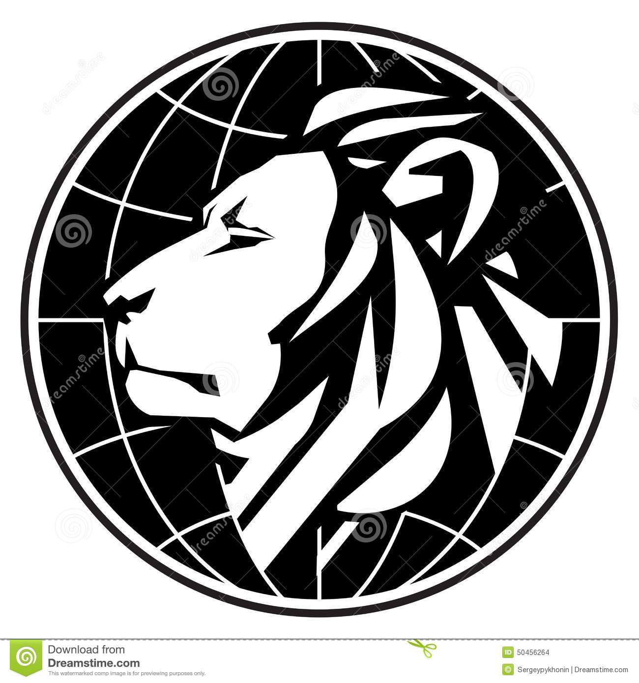 Business Vector Logo Design Template. Lion Or Zoo Stock Vector - Image ...