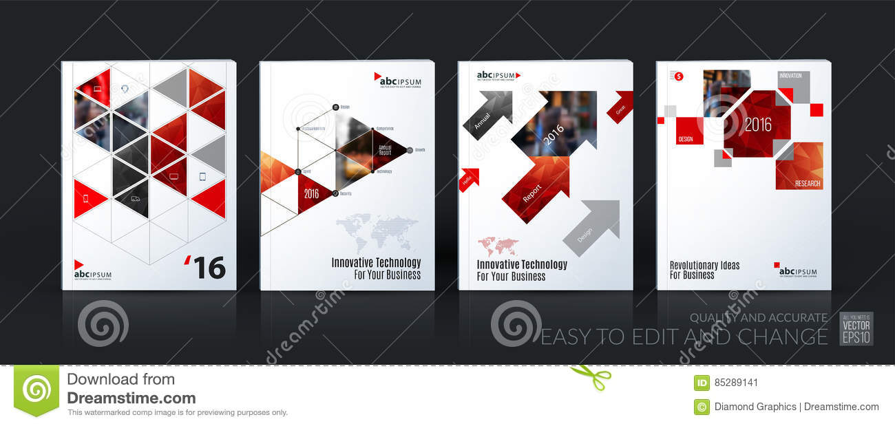 Business vector template mega set. Brochure layout, cover modern