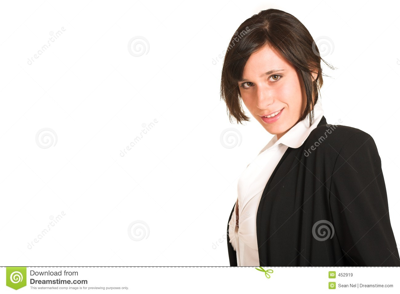 Download Business Woman #273 stock image. Image of jacket, straight - 452919