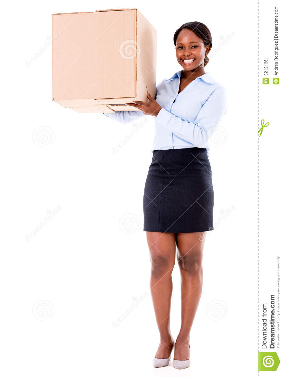 business-woman-carrying-box-moving-isola