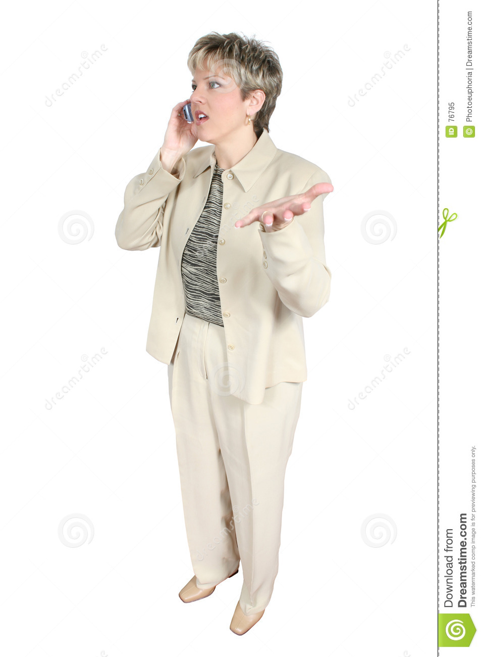 Business Woman on Cellphone