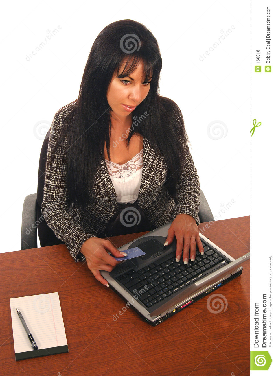 Business Woman Ecommerce