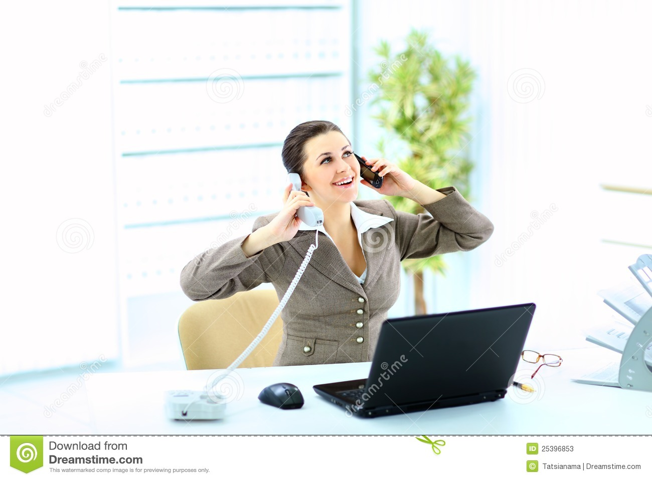 how to call private from office phone