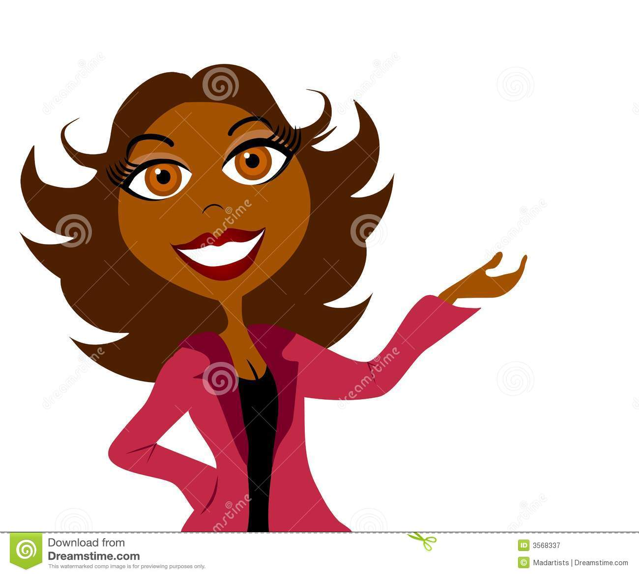 business woman presentation 2 stock illustration illustration of rh dreamstime com